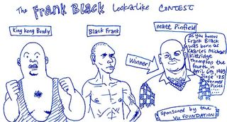 Frank Black Look-a-like Contest