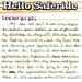 Hello Saferide - Long Lost Penpal