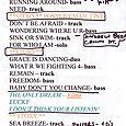 Tyrone Setlist 10-21-10z