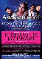 Asian Ball 2010 Manchester Poster