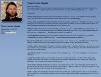 Thom Yorke's Celebrity iTunes Playlist