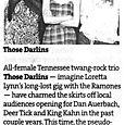 Those Darlins - Star Tribunez