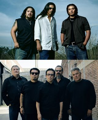 Los Lonely Boys and Los Lobos