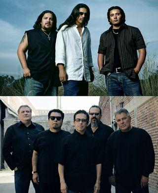 Los Lonely Boys and Los Lobos