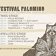 Festival Palomino Schedule