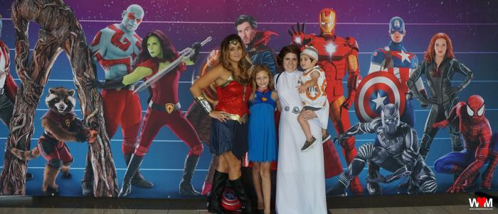 Wonder Woman and Leia
