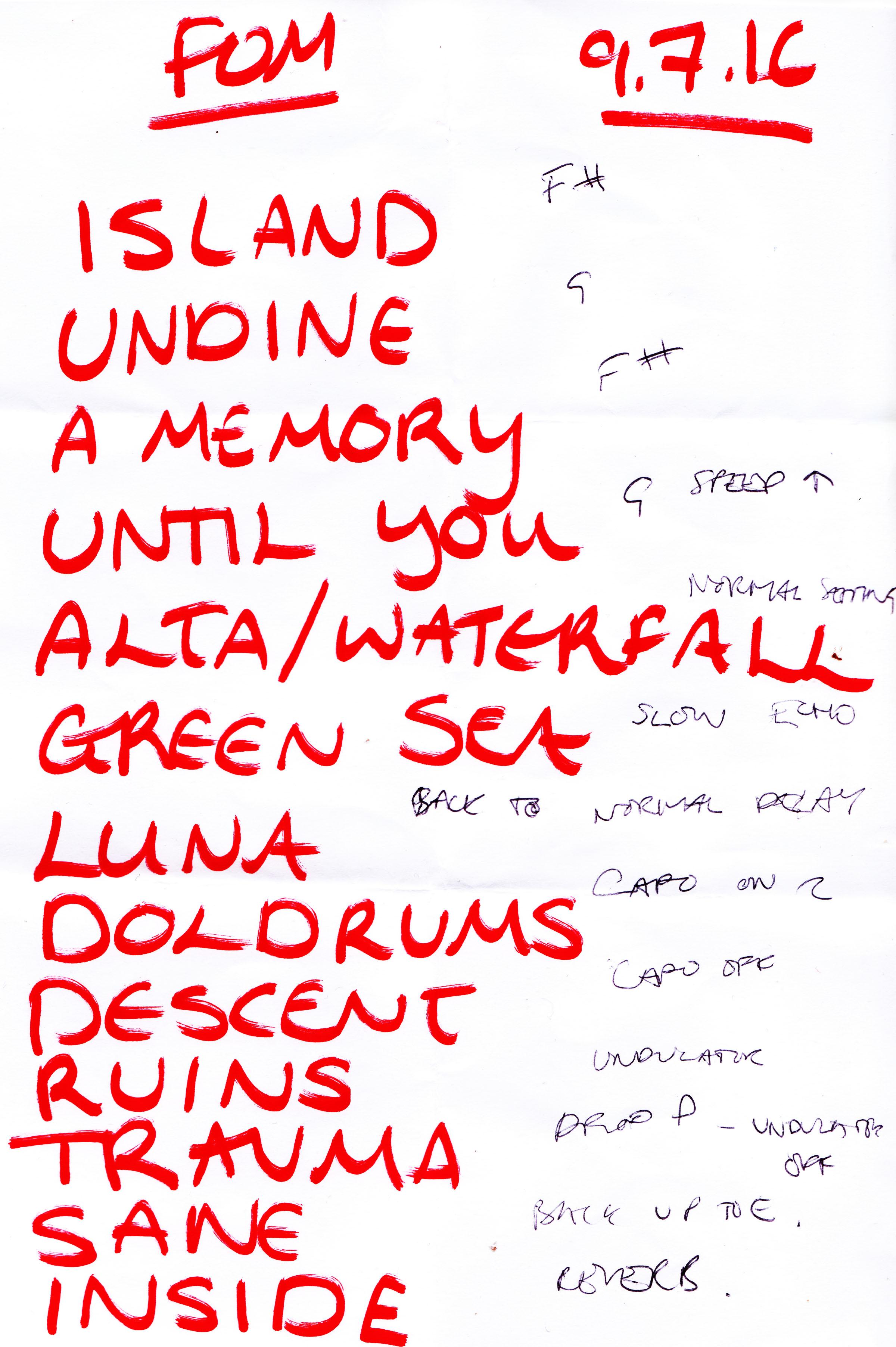 The coloring book tour setlist - Setlist