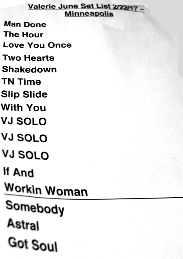 Lyric lyrics to goodnight irene : Valerie June w/ Oh Pep! at Cedar Cultural Center, Minneapolis (22 ...
