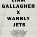 Liam Gallagher Warbly Jets 2017 Nov tour poster