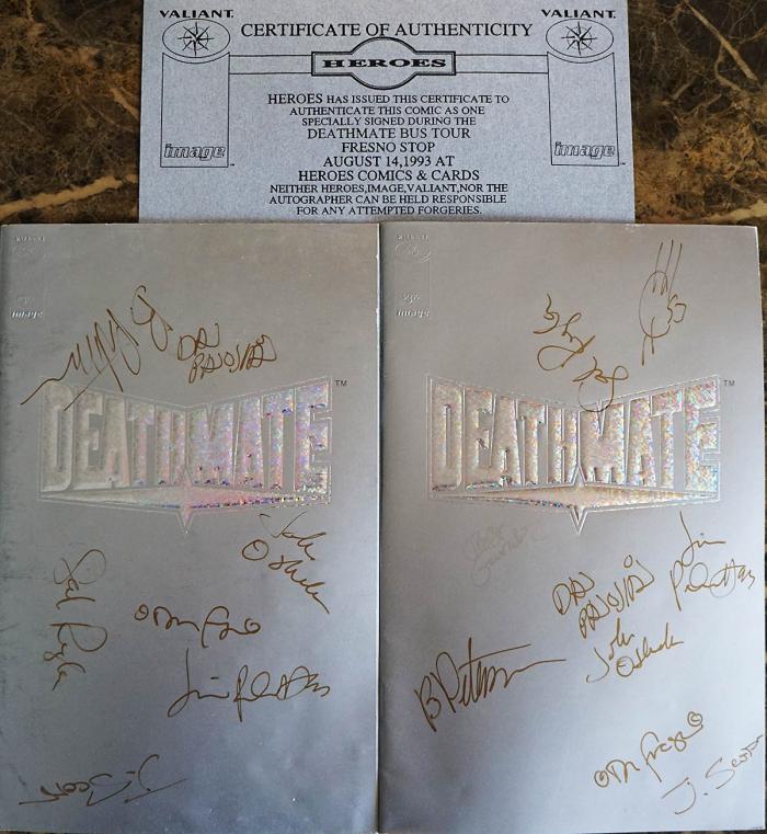 Deathmate Tour Book
