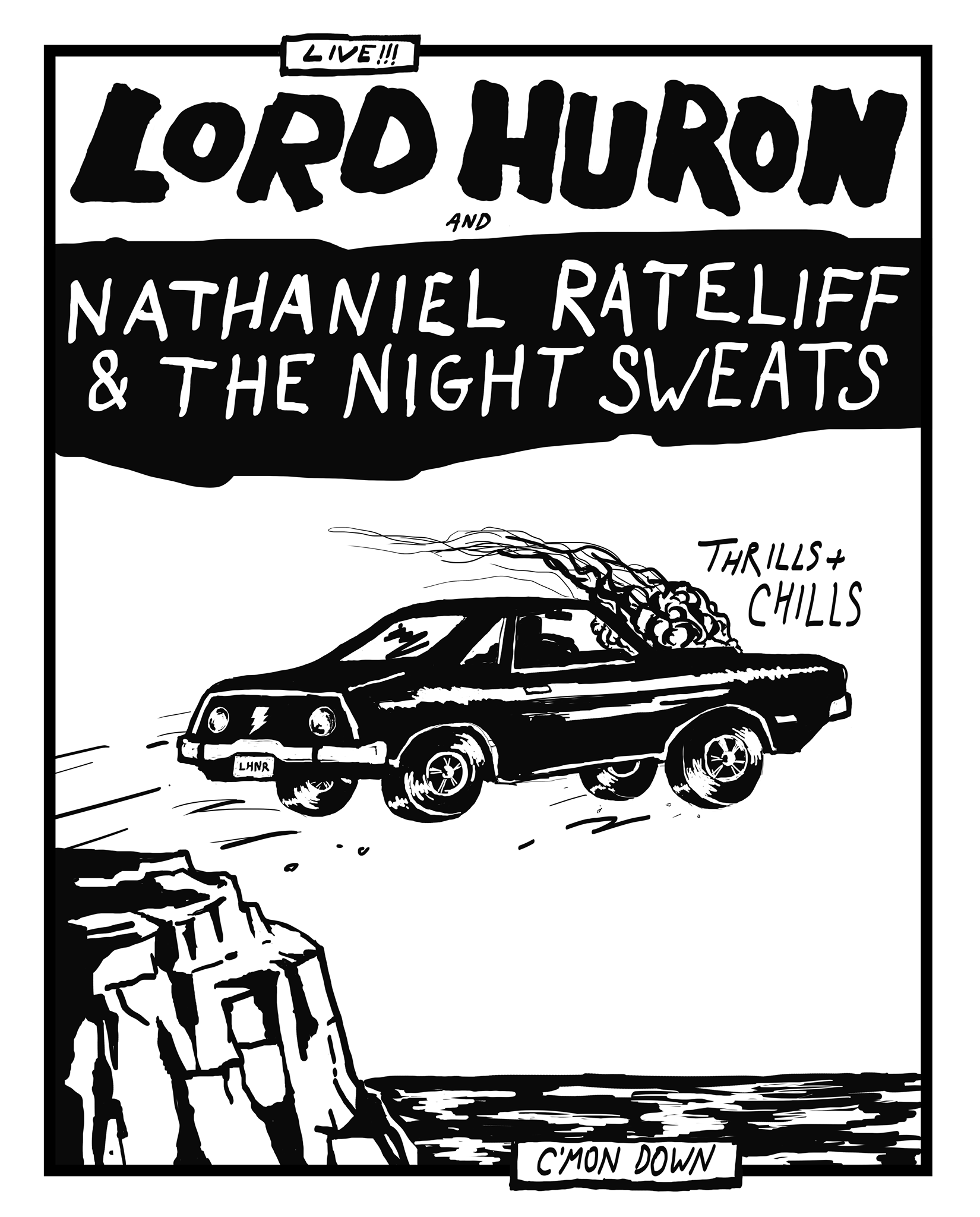 The coloring book tour setlist - Lord Huron Nathaniel Rateliff The Night Sweats Caroline Rose At Northrop Auditorium Minneapolis 31 May 2016
