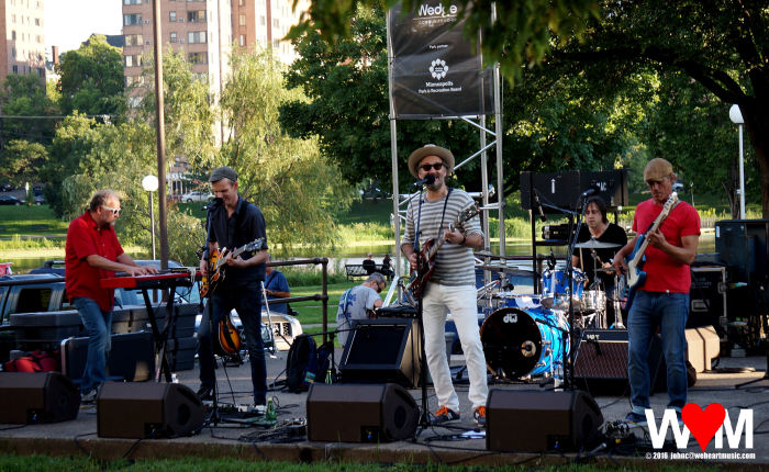 The Honeydogs at Loring Park, Minneapolis (08 Aug 2016)