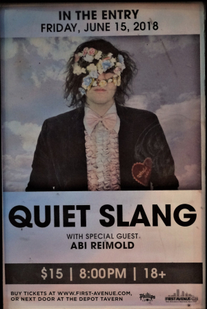 d16bb520 Quiet Slang at 7th St Entry, Minneapolis (15 June 2018)