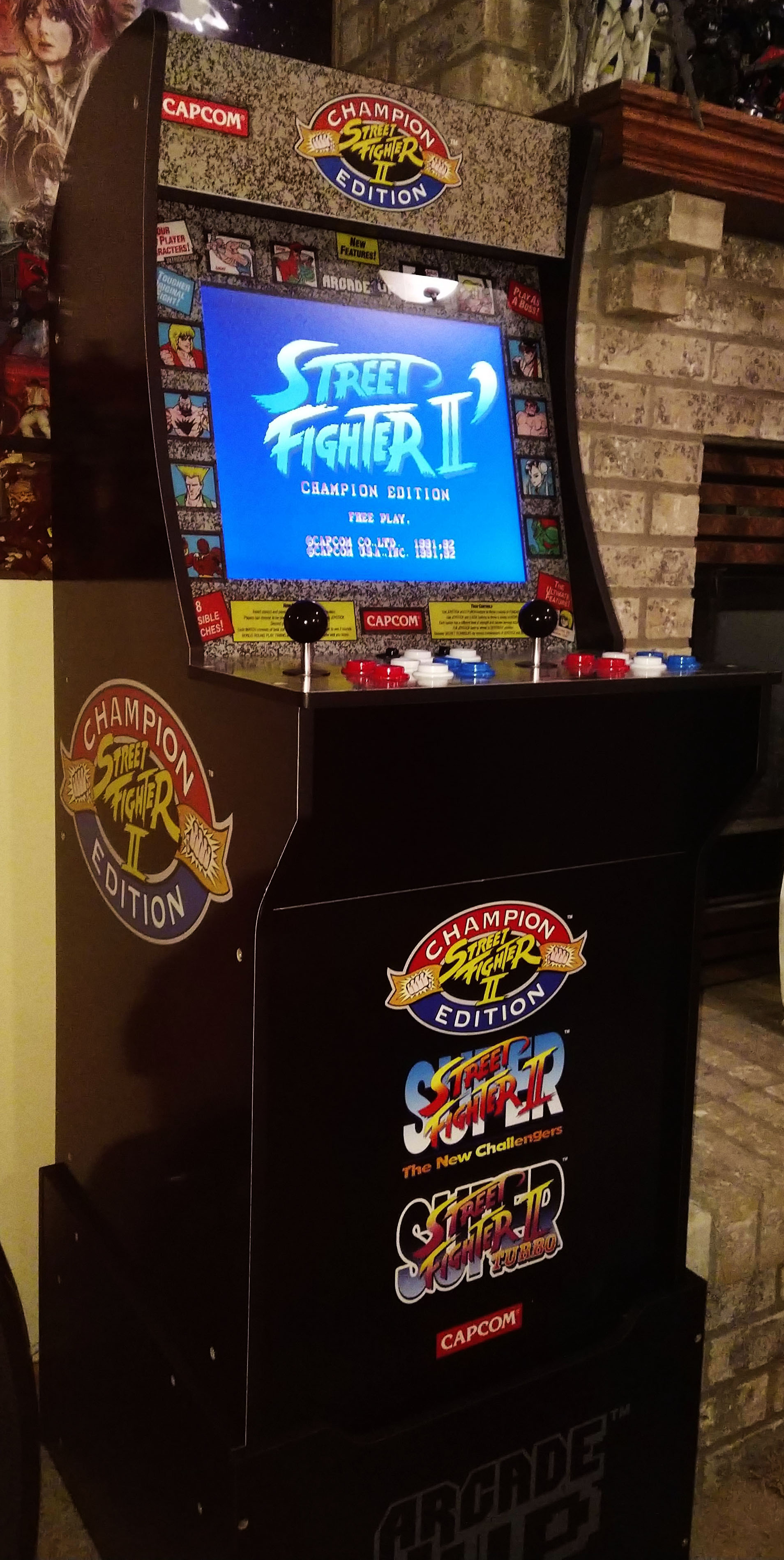 Update: Arcade1Up Street Fighter II Championship Edition and