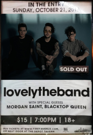 2c4723f0 lovelytheband at 7th Street Entry, Minneapolis (21 Oct 2018)