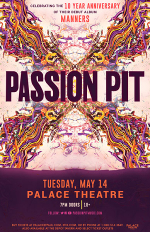 cb8f912c Passion Pit at the Palace