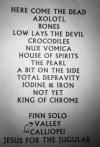 Veils Setlist