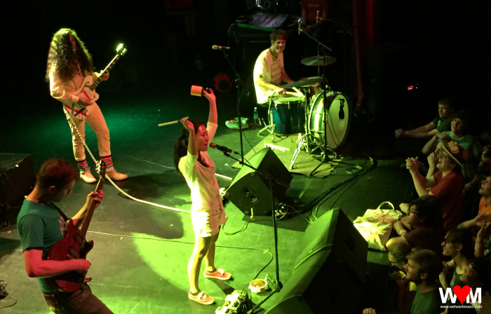 Deerhoof at Georgia Theatre, Athens (11 Aug 2016)
