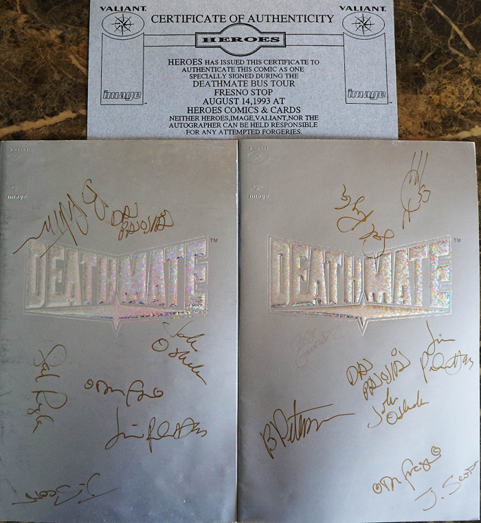 Deathmate Tour Book