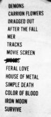 Chelsea Wolfe Setlist