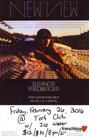 Eleanor Friedberger New View Poster
