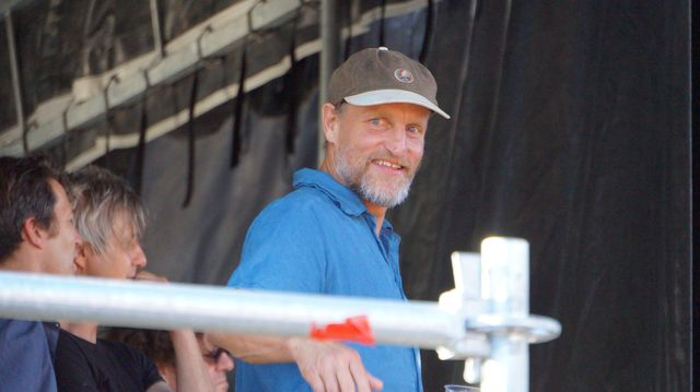 Woody Harrelson at Rock the Garden