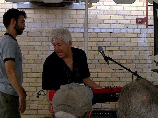 Ian McLagan & The Bump Band at Yard Dog Day Party (03/17/12)