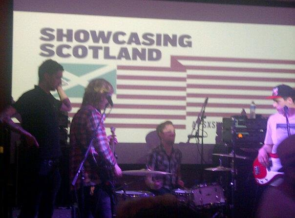 The Xcerts at Showcasing Scotland